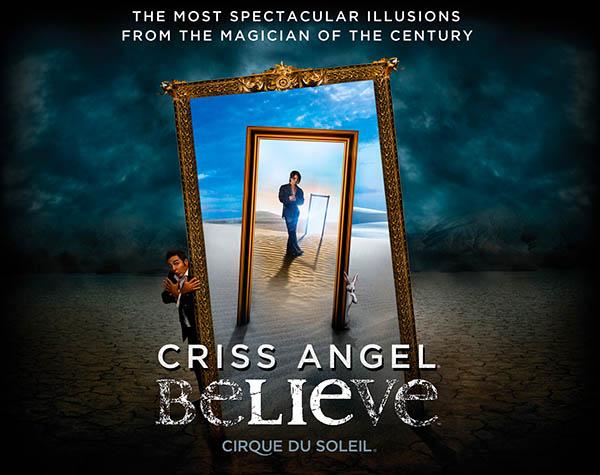 Criss Angel Believe: Show de mágica em Las Vegas
