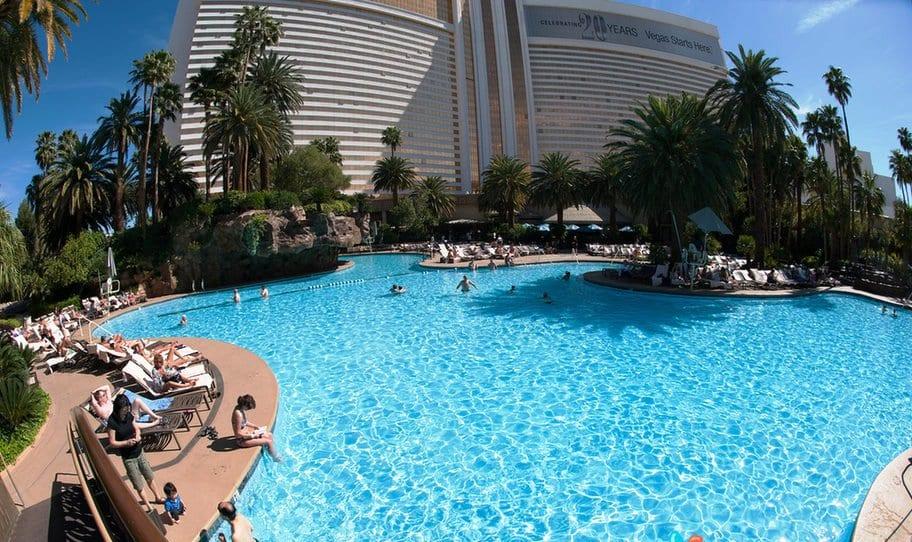 Sobre o hotel The Mirage em Las Vegas