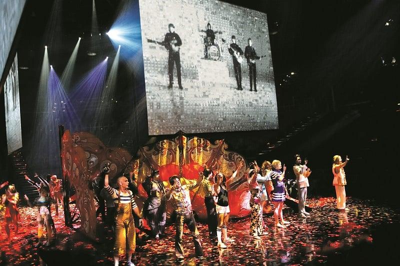 Ingressos e horários do show Love Beatles em Las Vegas