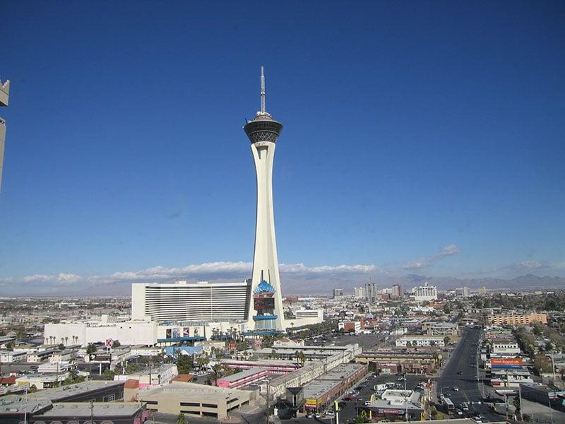 Sobre o restaurante Top Of The World no hotel Stratosphere em Las Vegas