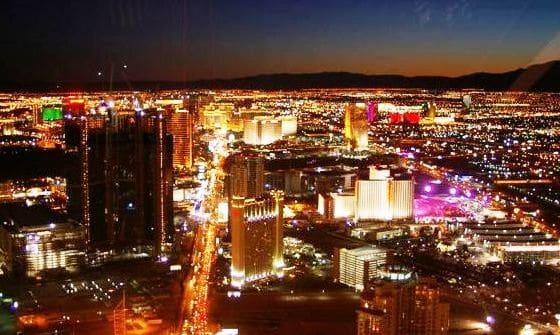 Localização do hotel Stratosphere em Las Vegas