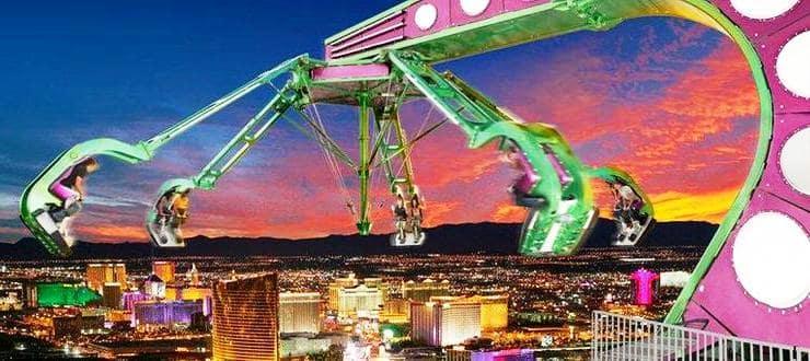 Atrações no hotel cassino Stratosphere em Las Vegas