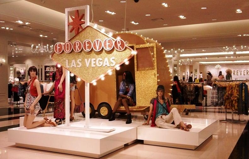 Shopping Fashion Show Mall em Las Vegas