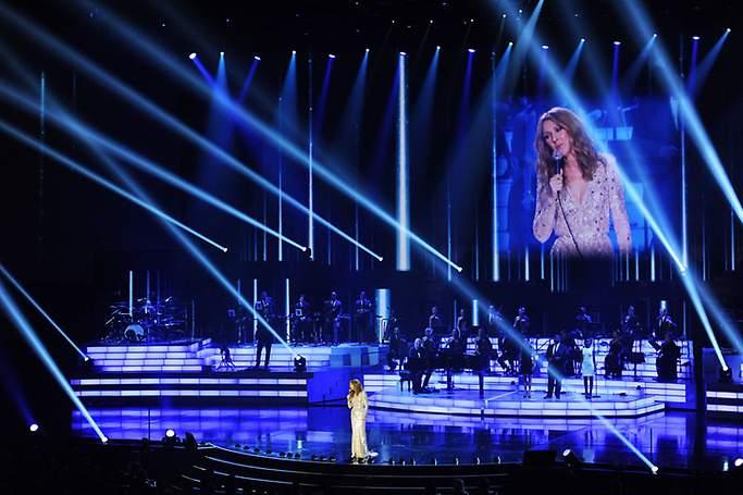 Como é o show da Celine Dion em Las Vegas