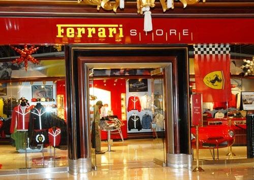 Loja Ferrari Las Vegas