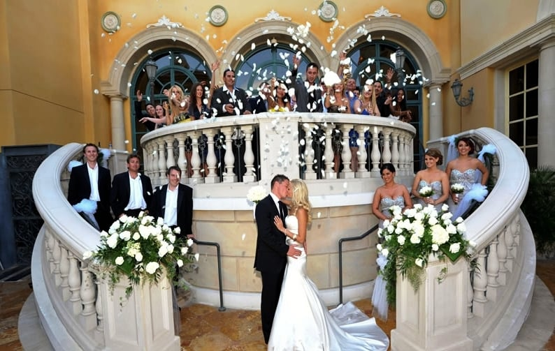Bellagio's Wedding Chapel em Las Vegas