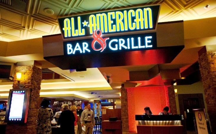 Restaurante All American Bar and Grille em Las Vegas