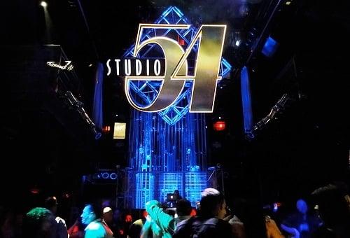 Balada Studio 54 Nightclub em Las Vegas