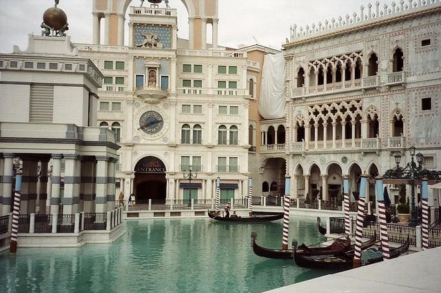 Atrações no The Venetian Hotel Cassino