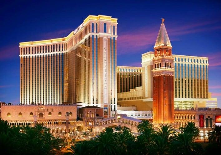 The Venetian Hotel Cassino em Las Vegas