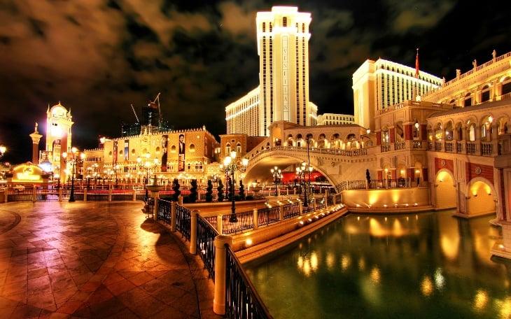 Atrações no The Venetian Hotel Cassino em Las Vegas