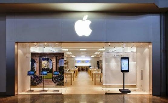 Loja de eletrônicos Apple em Las Vegas