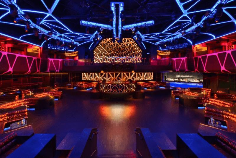 Balada Hakkasan em Las Vegas