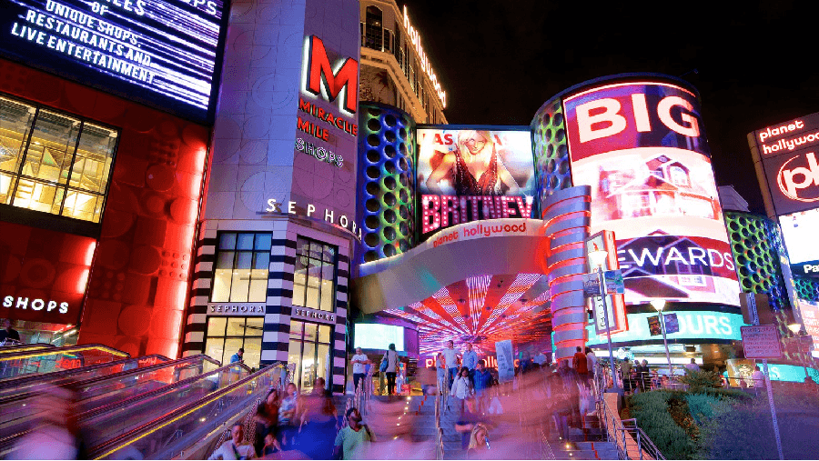 Shopping Miracle Mile em Las Vegas