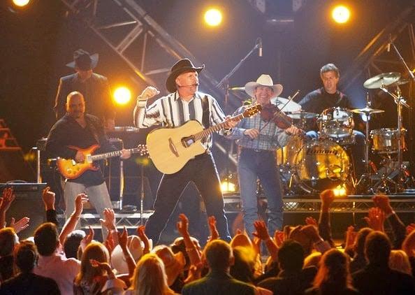 Show do Garth Brooks em Las Vegas