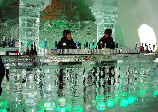 Bar de gelo Minus 5º em Las Vegas