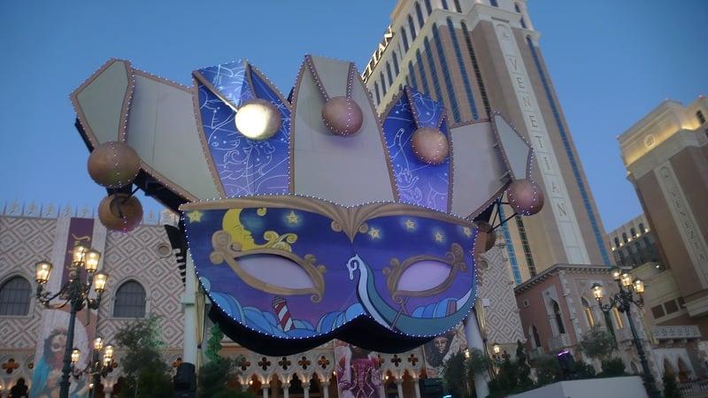 Carnaval em Las Vegas