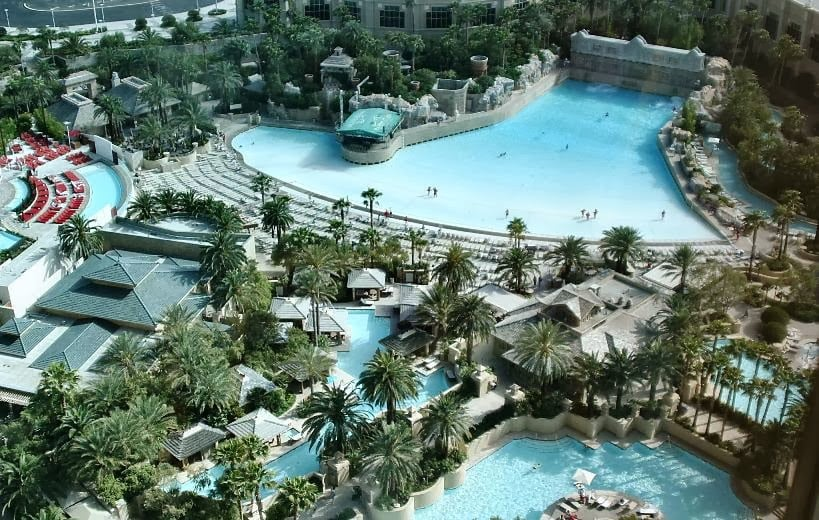 Entretenimento no hotel cassino Mandalay Bay em Las Vegas