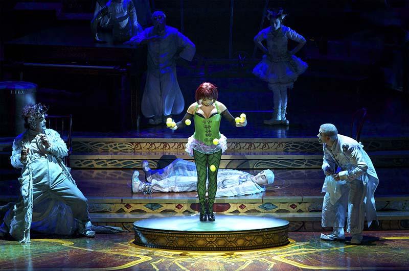 Show Zarkana do Cirque Du Soleil em Las Vegas