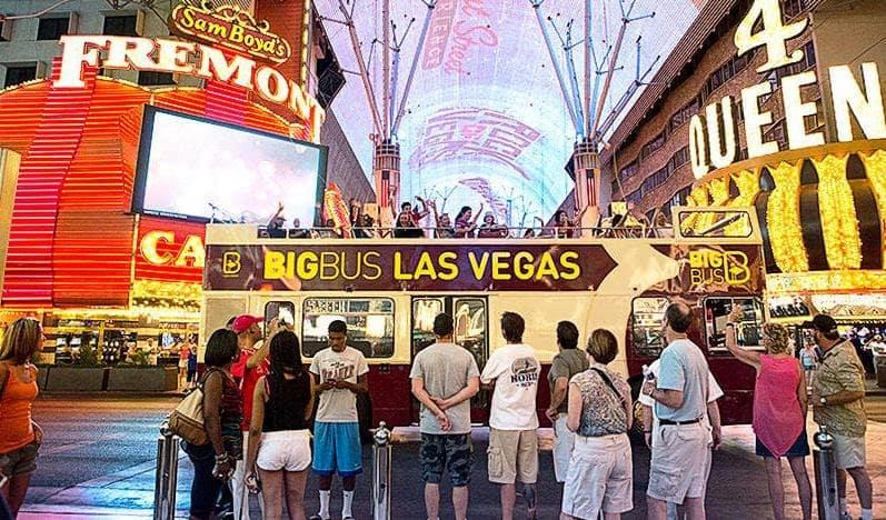 Passeio de ônibus turístico em Las Vegas