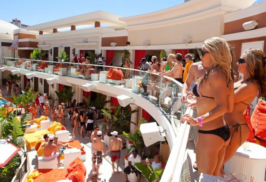 Encore Beach Club Pool Party Las Vegas