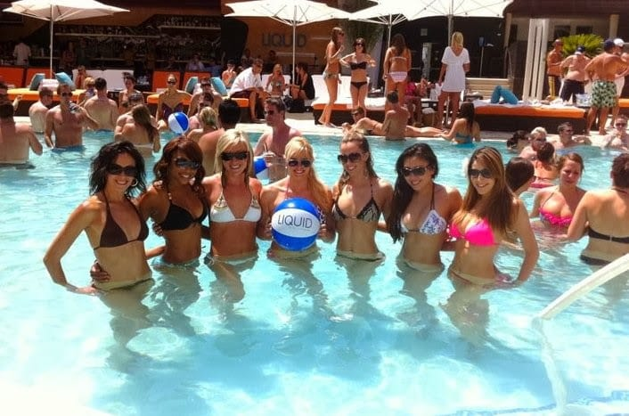 Liquid Pool Party Las Vegas