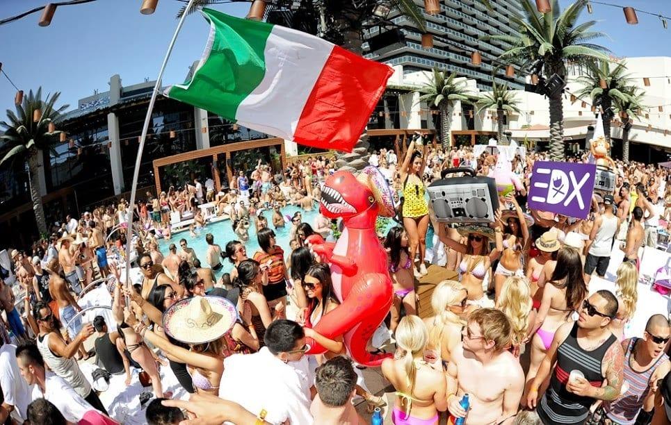 Marquee Day Club Pool Party em Las Vegas