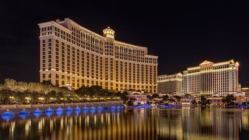 Hotel Bellagio em Las Vegas