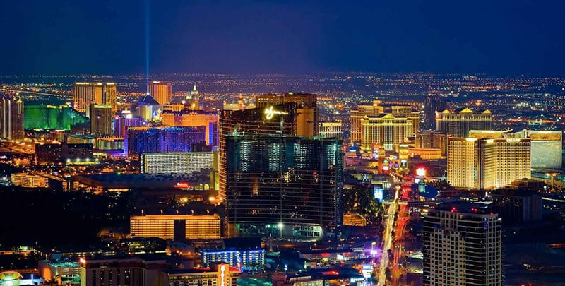 Ligações nacionais e internacionais em Las Vegas