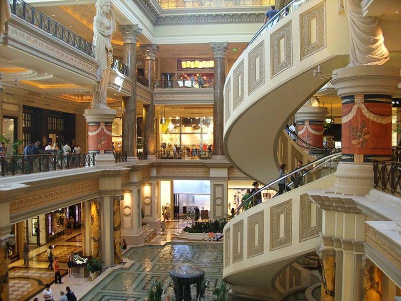 Lojas de marca e de departamento em Las Vegas