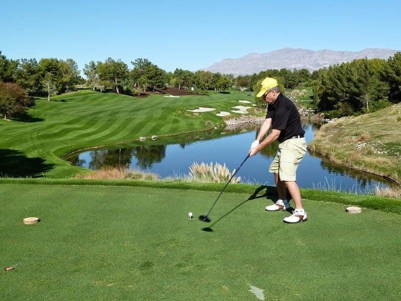 Campo de golfe Shadow Creek em Las Vegas