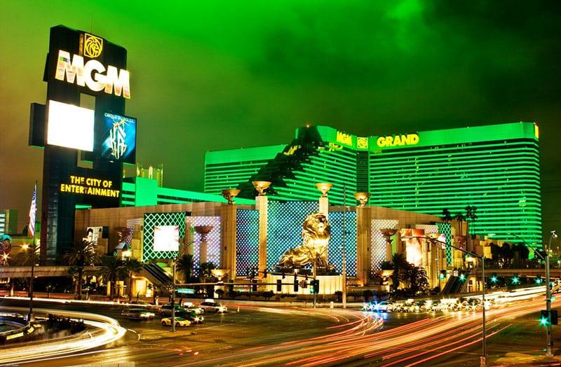 Hotel cassino MGM em Las Vegas
