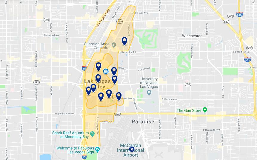 Onde ficar em Las Vegas: melhores hotéis