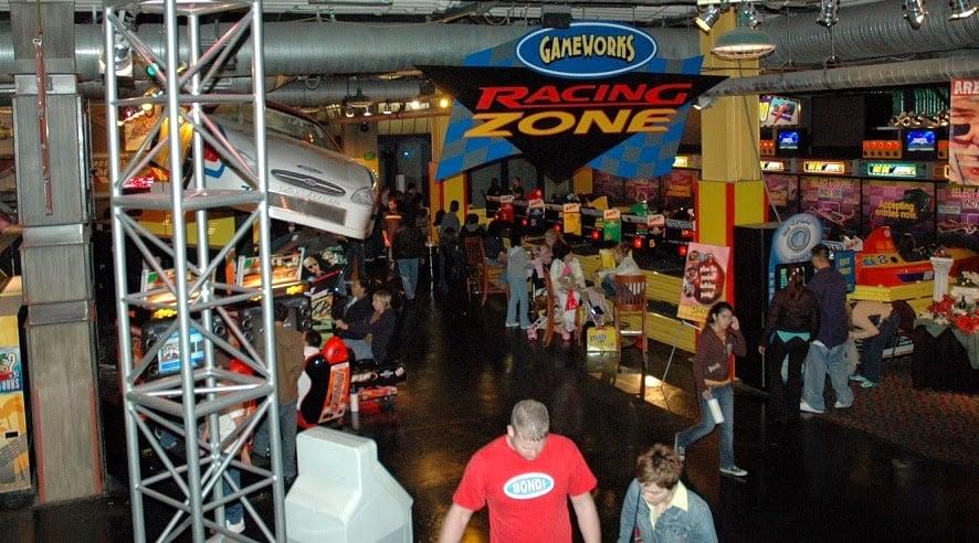 Showcase Mall em Las Vegas Games