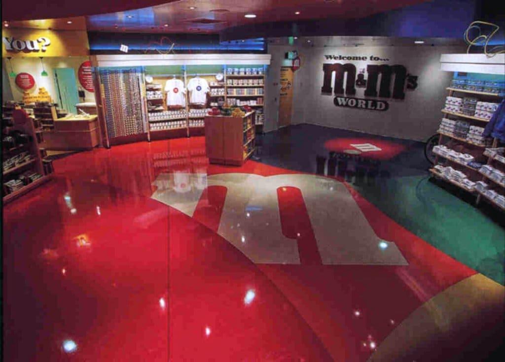 Showcase Mall em Las Vegas | M&Ms