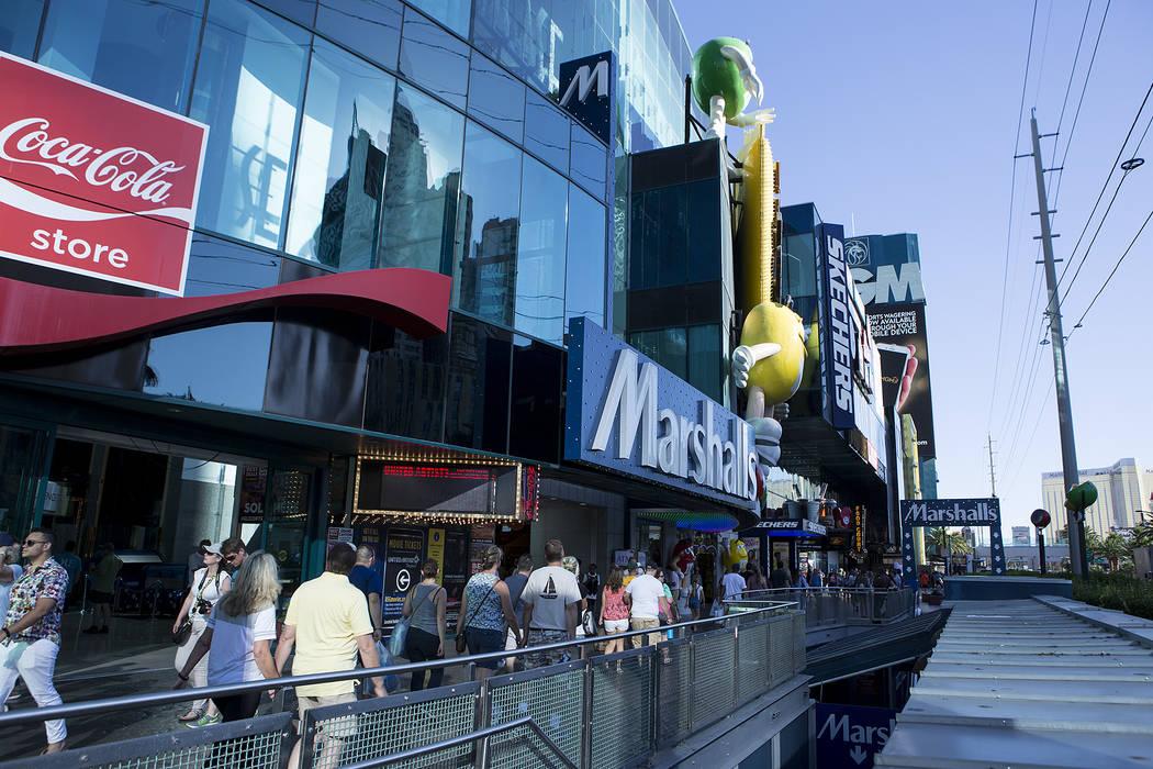 Showcase Mall Las Vegas: M&Ms, Coca-Cola e Gameworks