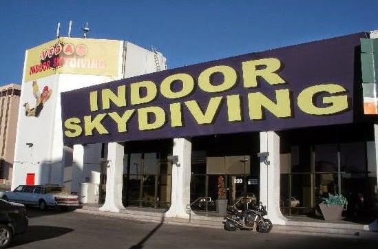 Vegas Indoor Skydiving em Las Vegas