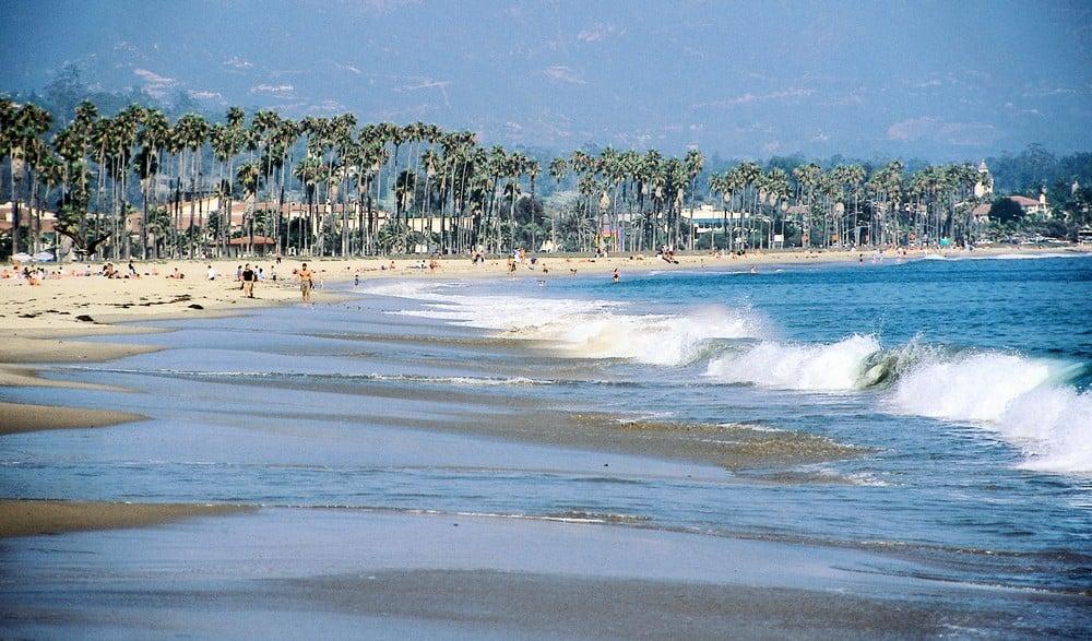 Praia na Califórnia