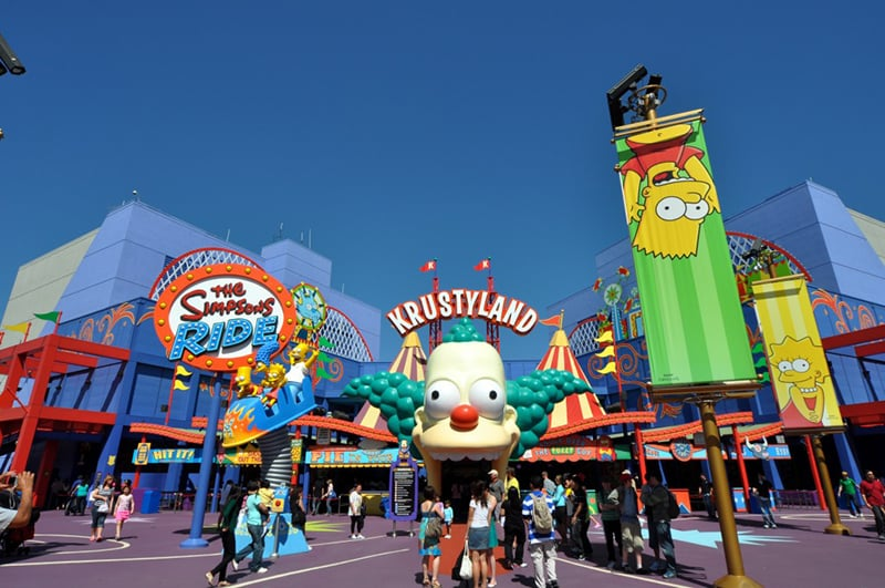 Parque Universal Studios Hollywood