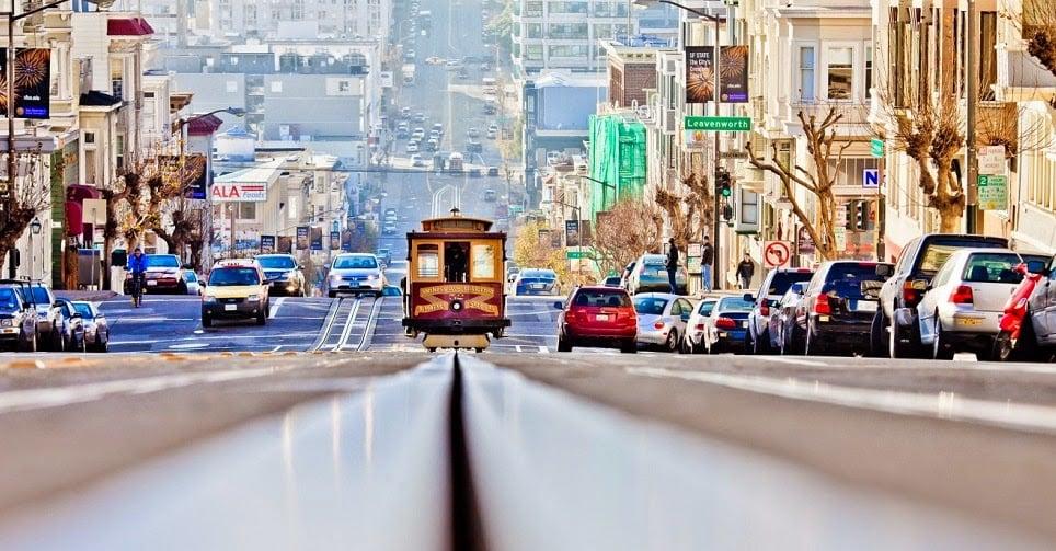 Rua em San Francisco