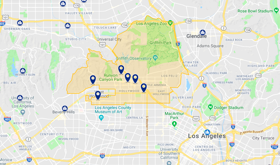 Onde ficar em Los Angeles: melhores hotéis