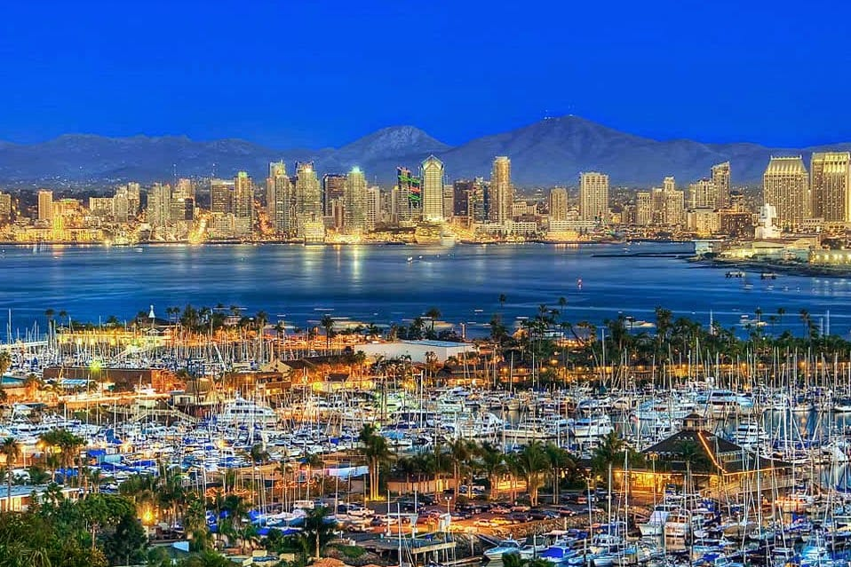 Seguro viagem internacional para San Diego