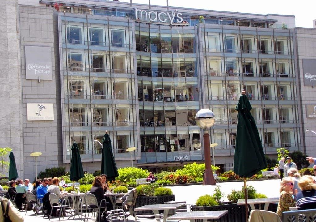 Union Square em San Francisco Macys