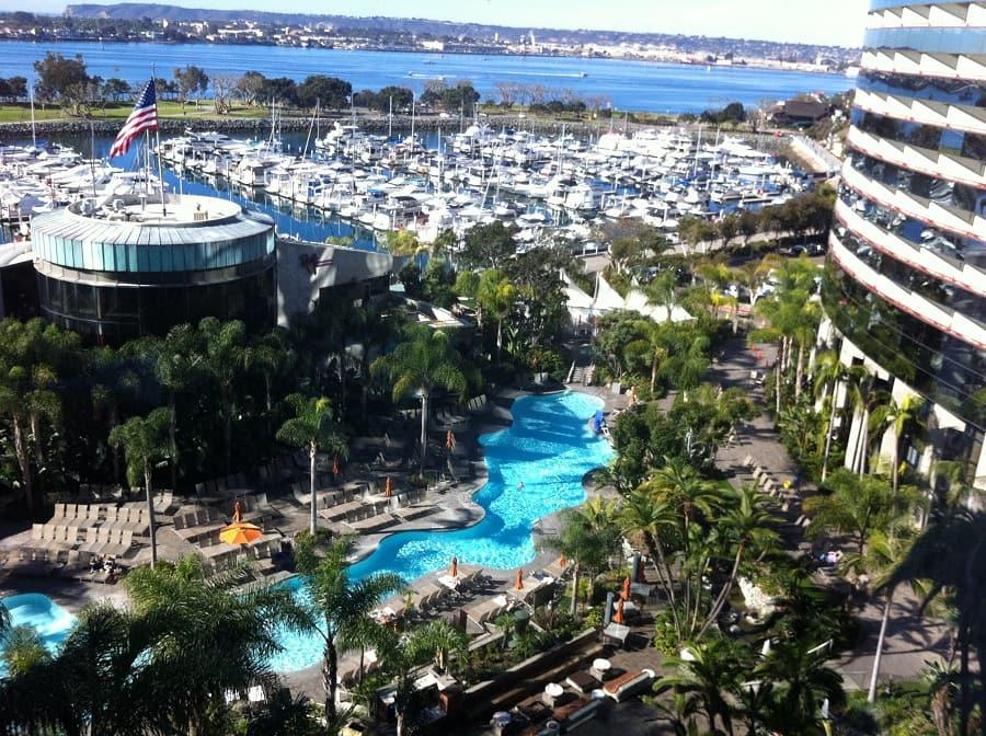 Hotel San Diego Marriott Marquis Marina na Califórnia
