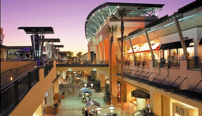 Shopping Fashion Valley Mall em San Diego