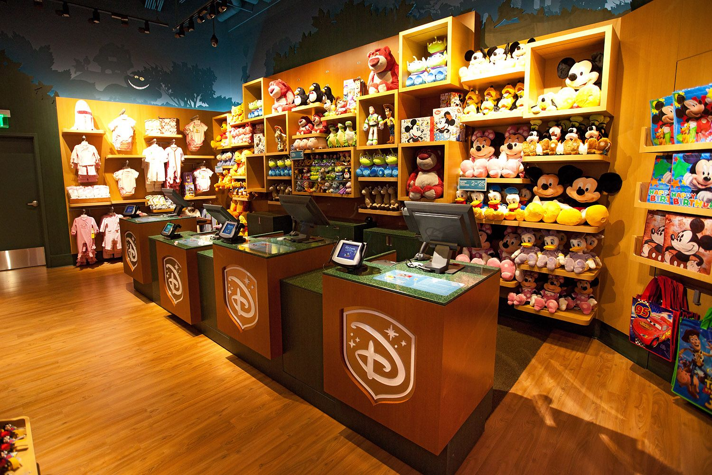 Disney Store em San Francisco