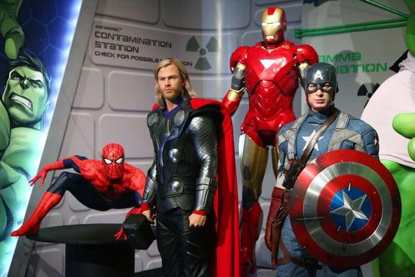 Madame Tussauds Hollywood em Los Angeles - Super Herois