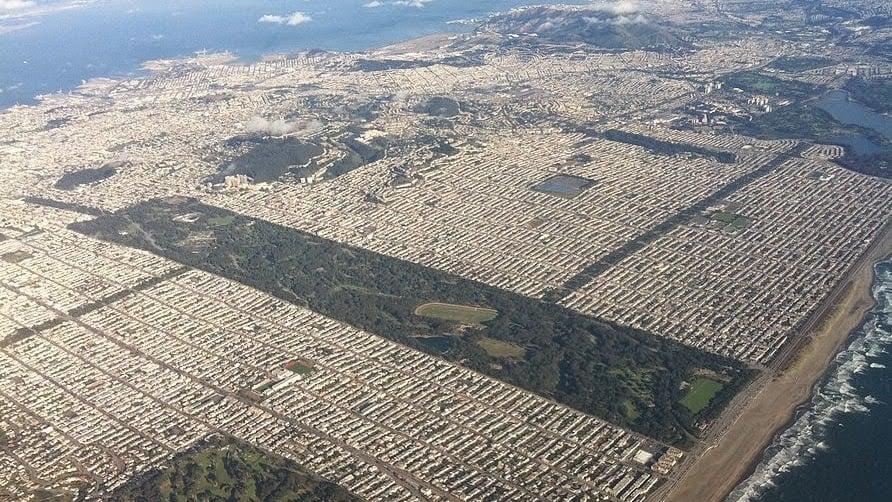 Parque Golden Gate Park em San Francisco