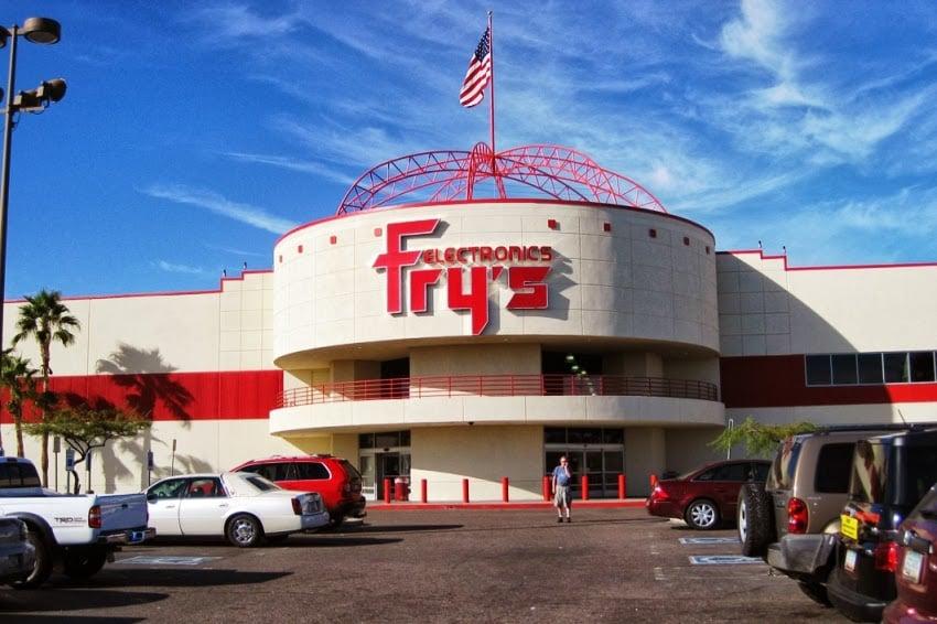 Comprar máquinas fotográficas e filmadoras na Fry's em Las Vegas