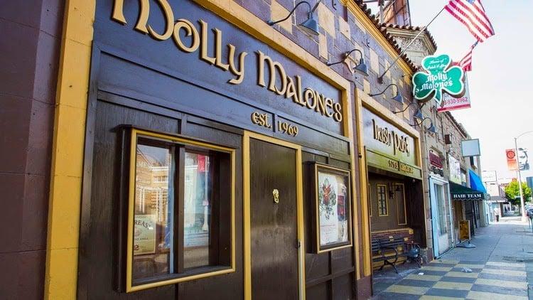 Onde comemorar o St. Patrick's Day em Los Angeles na Califórnia: Os melhores Irish Pubs de Los Angeles na Califórnia
